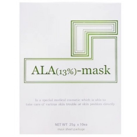 ALA (5-Aminolevulinic Acid) 13% Sheet Mask